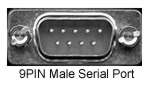 9PIN Male Serial Port